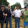 A gathering of new friends and old. From left to right: Steve Bauer, Ted Maine Smith, Philip Richter, and Michael Rolls