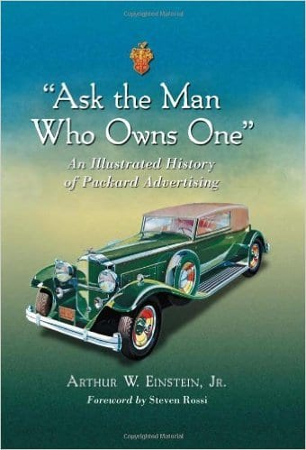 "The cover of Arthur's book, ""Ask the Man Who Owns One."""