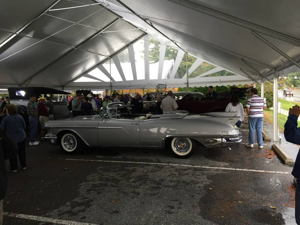 This late 50's Caddy went for over $200,000.