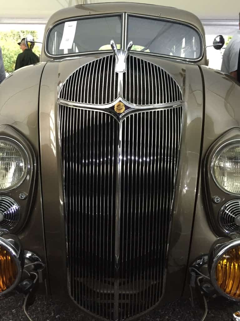 A perfect 1936 Chrysler Airflow sold at the high end of the estimates