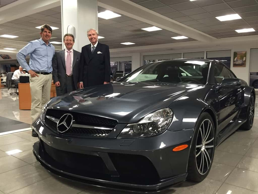 At Contemporary with owners Scott Coleman and Allan Sokol. The SL 65 is stunning!