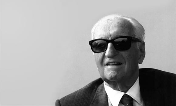The iconic Enzo Ferrari
