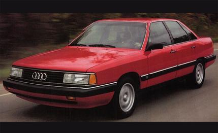The 1986 Audi 5000 was the subject of unintended acceleration lawsuits. The truth was that it was a great automobile laden with firsts such as flush windows that made the ride quiet at high speed.