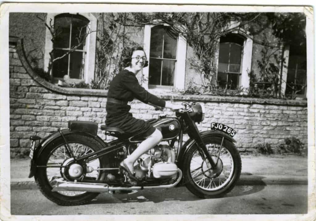 BMW R5 1938 Mrs Freeman