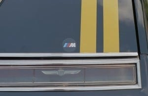 """BMW M insignia indicate something sinister under the hood....but truthfully it was """"big hat, no cattle."""""""