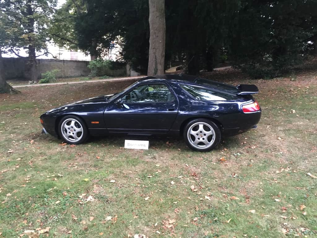 Rare Porsche 928 GTS 5-speed to be auctioned tomorrow.