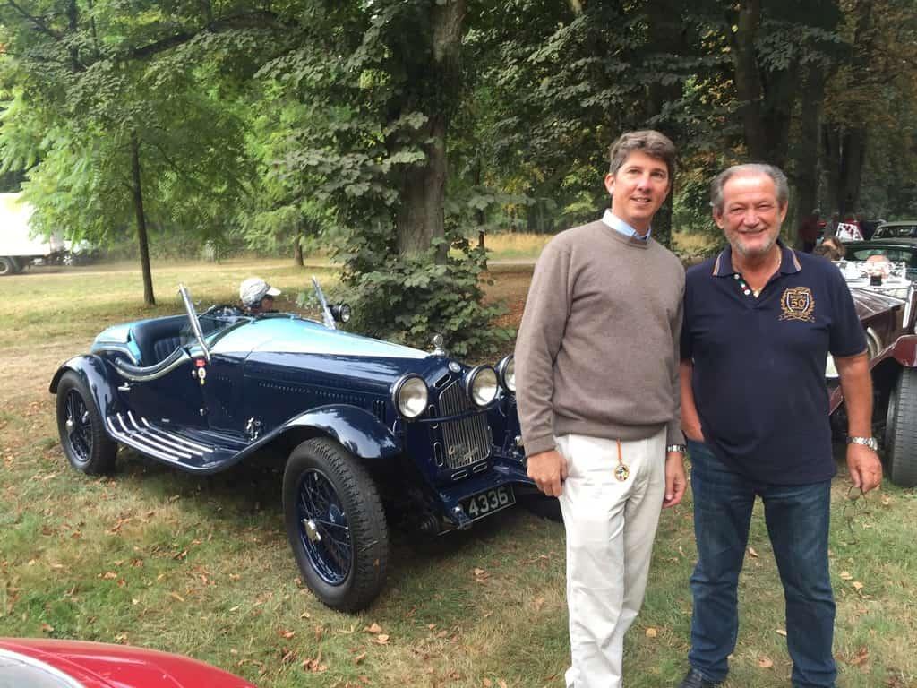 PER with legendary Lamborghini test driver Valentino Balboni.