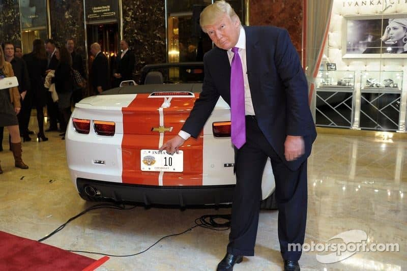 indycar-donald-trump-indy-500-announcement-2011-donald-trump-checks-out-his-new-ride-as-th