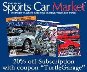 20% Off Sports Car Market