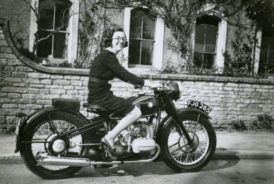 BMW R5 1938 Mrs Freeman