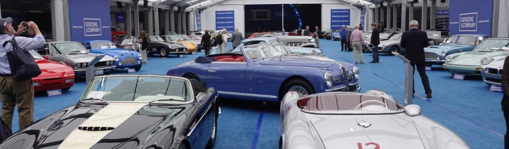 The Gooding Auction: class, quality, and a great selection of cars!